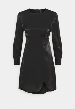 SHINE SHORT DRESS PETITE - Cocktailjurk - black