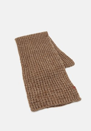 SCARF - Halsduk - brown twist