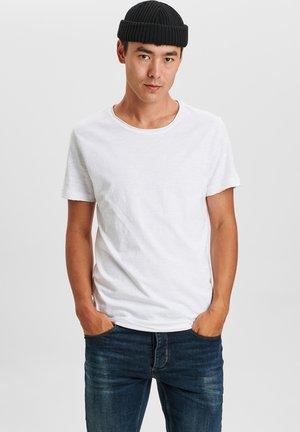 KONRAD SLUB S/S TEE - Basic T-shirt - white
