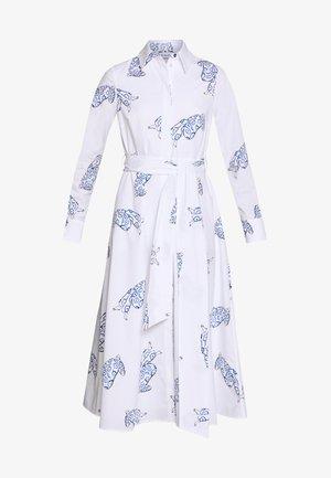 MIDI DRESS - Korte jurk - bright white