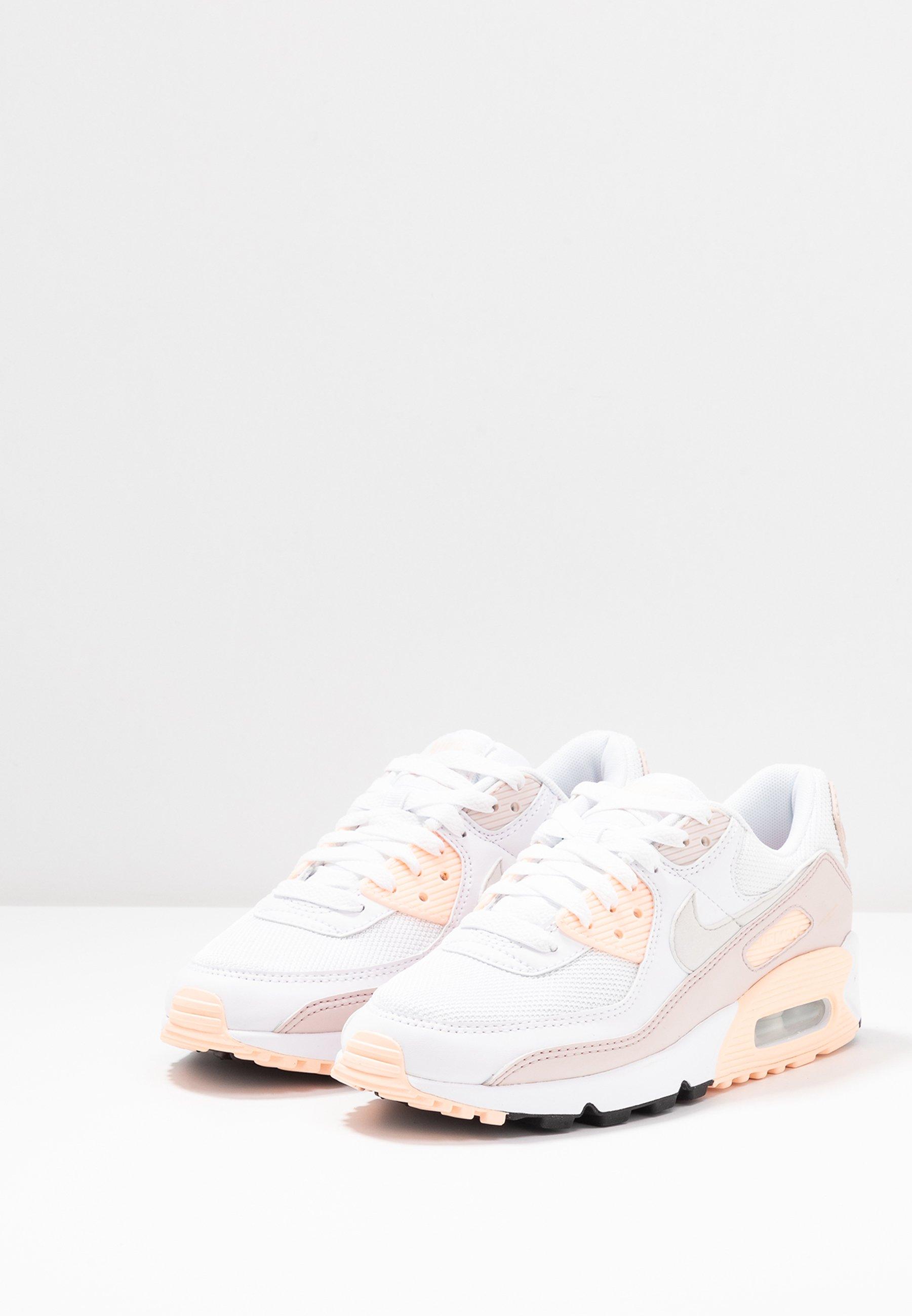 Nike Sportswear AIR MAX 90 - Baskets basses - white/platinum tint ...