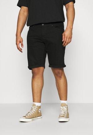 JJIRICK JJORIGINAL - Denim shorts - black denim
