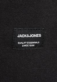 Jack & Jones - JJESOFT ZIP HOOD - Huvtröja med dragkedja - black - 5