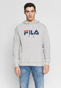 Fila - PURE HOODY - Hoodie - light grey melange - 0