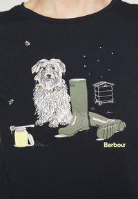 Barbour - ROWEN TEE - T-shirt con stampa - navy - 3