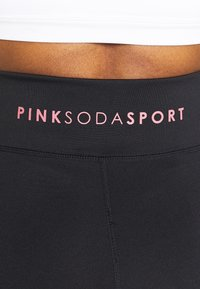 Pink Soda - AVE PANEL - Tights - black - 3