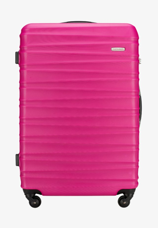 GROOVE LINE - Kufr - pink