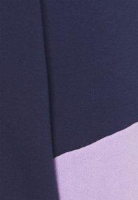 Even&Odd - Colour Block Sweatshirt loose fit - Felpa - dark blue - 2