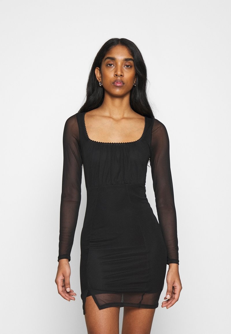 Topshop - MINI - Shift dress - black