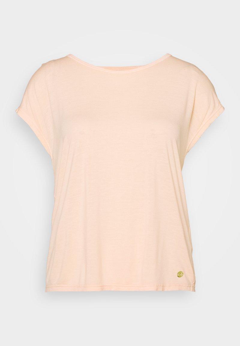 Deha - YOGA - T-shirt print - peach rose