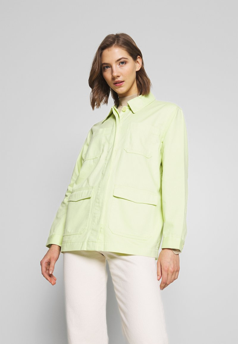 Monki - HANNA JACKET - Summer jacket - light green