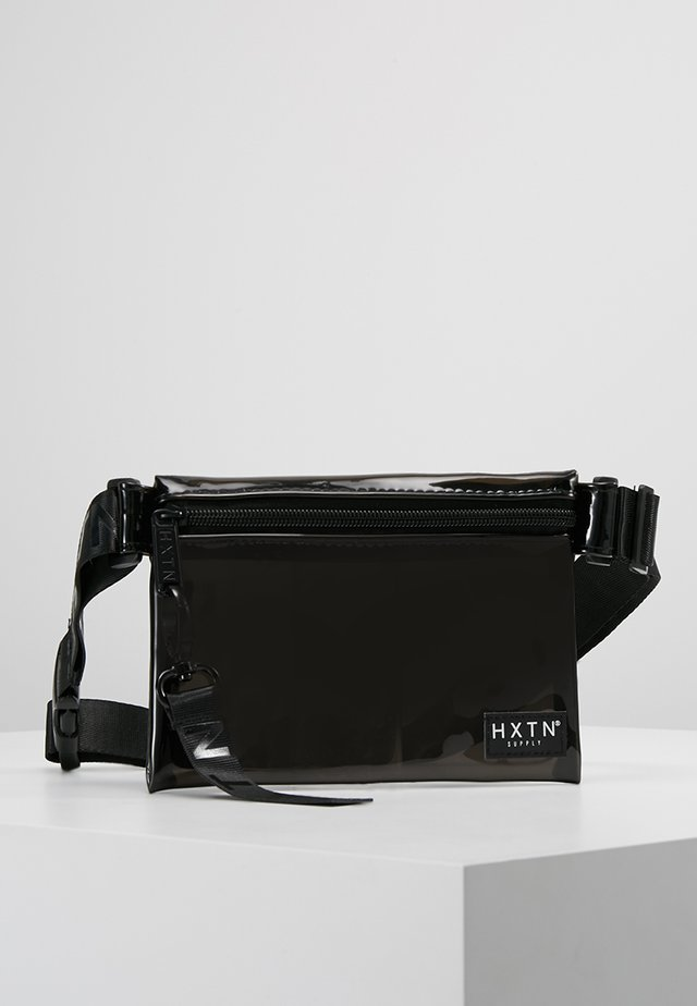 PRIME CROSSBODY UNISEX - Olkalaukku - optic black