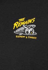Element - SIDE - Print T-shirt - flint black - 3