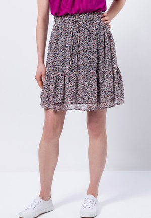 A-line skirt - magenta rouge