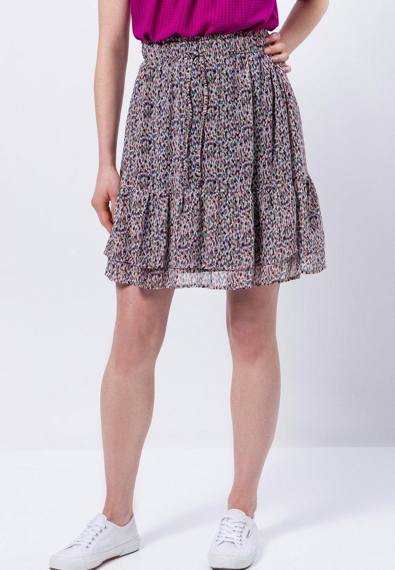 zero - A-line skirt - magenta rouge