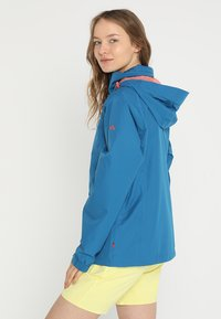 Vaude - WOMANS ESCAPE LIGHT JACKET - Waterproof jacket - kingfisher - 2