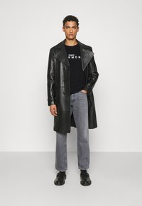 John Richmond - TOLIMA REGULAR - Print T-shirt - black - 1