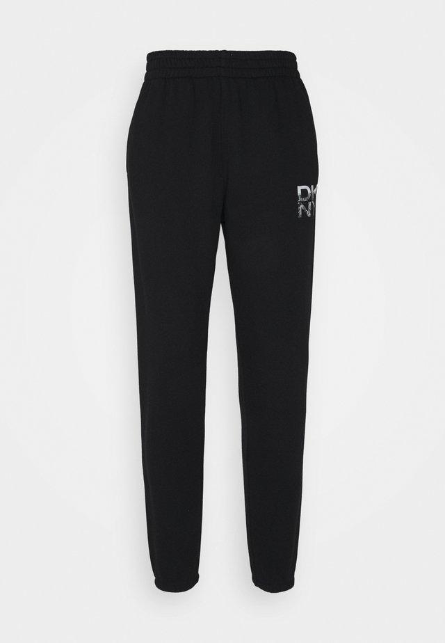 STACKED CITY LOGO HIGH RISE - Pantaloni sportivi - black
