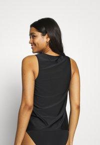 LASCANA - SWIM SHIRT MATCH - Bikini top - black - 2