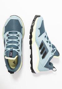 adidas Performance - TERREX AGRAVIC TR GTX - Løbesko trail - legend blue/core black/yellow tint - 1