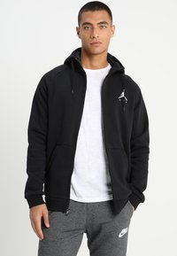 Jordan - Mikina na zip - black/white - 3