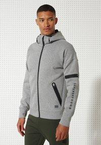 Superdry - Zip-up hoodie - grey marl - 1