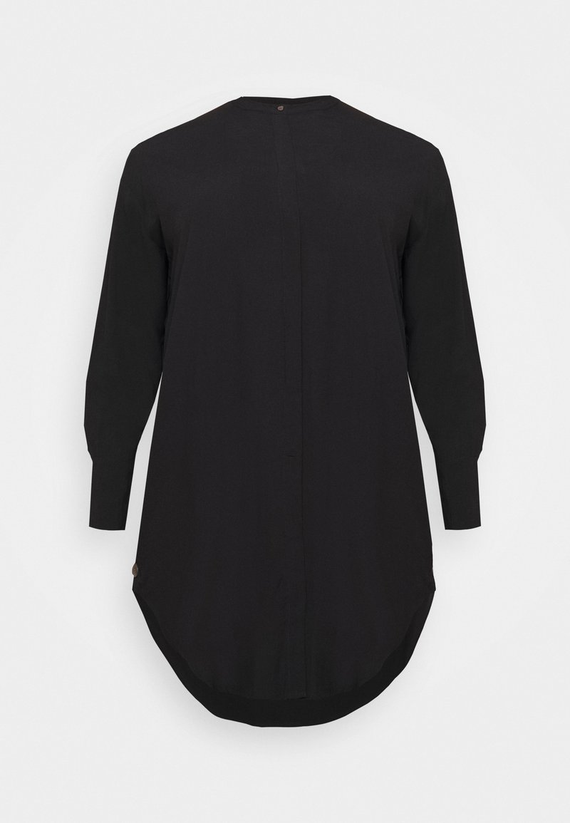 Vero Moda Curve - VMGIADA LONG  - Blouse - black