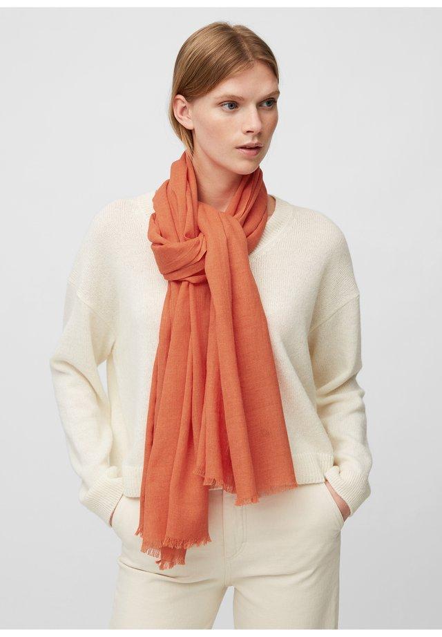 SCARF  - Sjaal - sunset orange