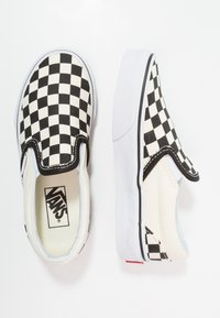 Vans - CLASSIC - Loafers - black/white - 0