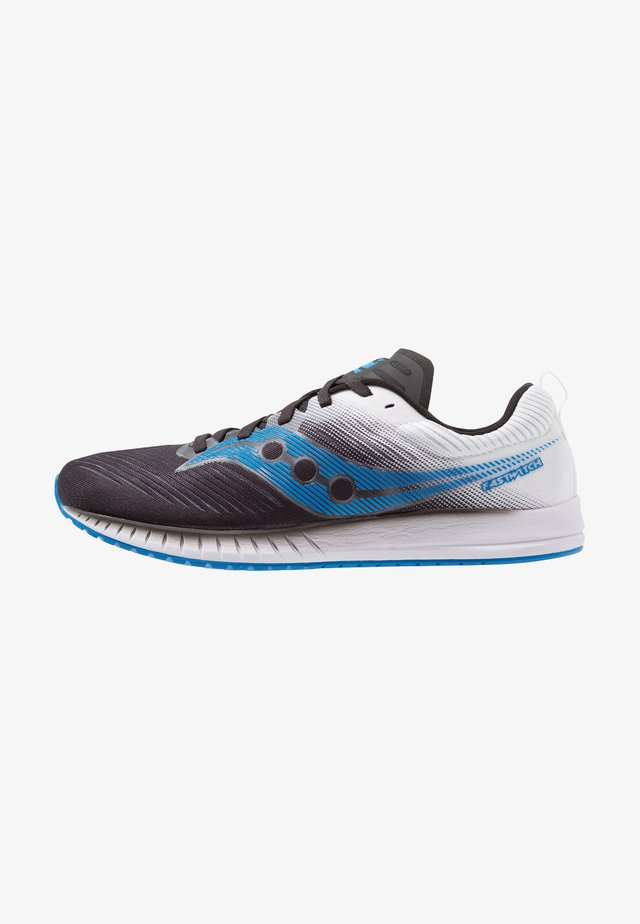 FASTWITCH 9 - Competition running shoes - black/white