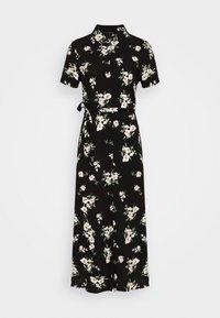 Vero Moda - VMSIMPLY EASY LONG SHIRT DRESS - Skjortekjole - black - 4