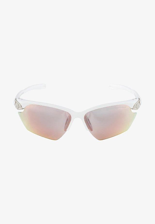 Sports glasses - white matt-silver (a8626.x.10)