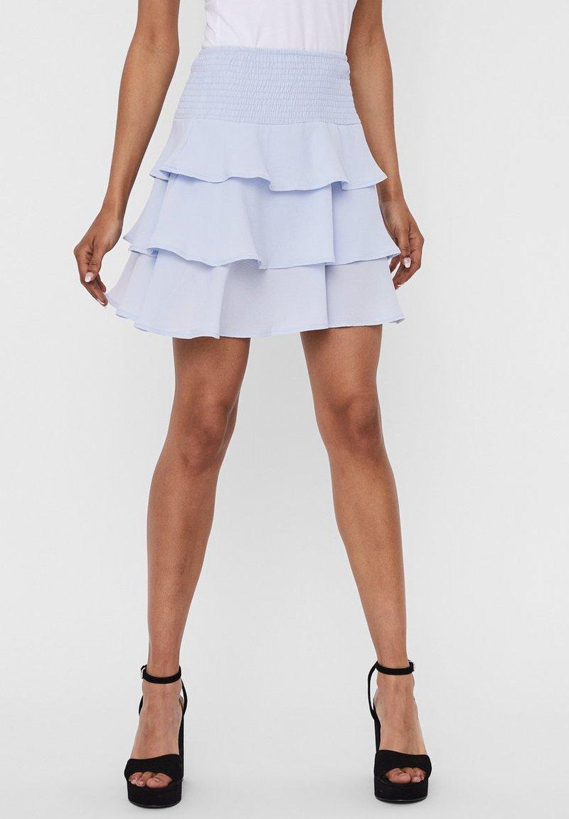 Vero Moda - A-line skirt - xenon blue