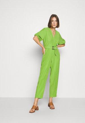 PLEATED WRAP - Mono - green