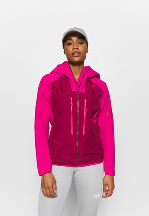 Hardshell jacket - flamingo