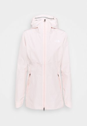 WOMENS HIKESTELLER JACKET - Hardshell jacket - pearl blush