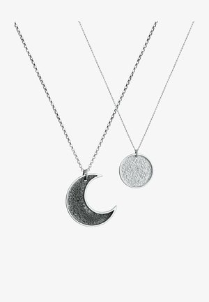 2 PACK MOON - Halsband - silver coloured