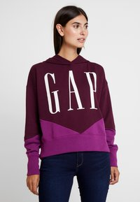 GAP - SPLICE - Hoodie - secret plum - 0