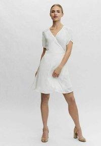 Vero Moda - WICKEL - Day dress - cloud dancer - 1