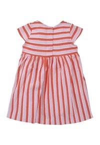 TOM TAILOR - TOM TAILOR KLEIDER & JUMPSUITS GESTREIFTES KLEID MIT RÜSCHEN - Day dress - printed stripe|multicolored - 1