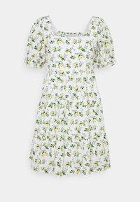 ELDORA MINI DRESS - Denní šaty - white
