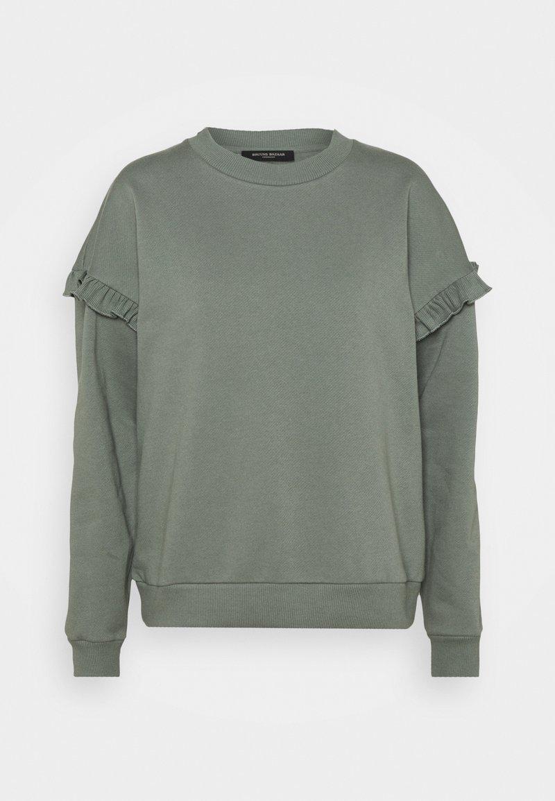 Bruuns Bazaar - RUBINE RIEA - Sweatshirt - moss