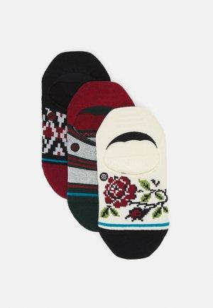 BE MERRY 3 PACK - Socks - black/white/red