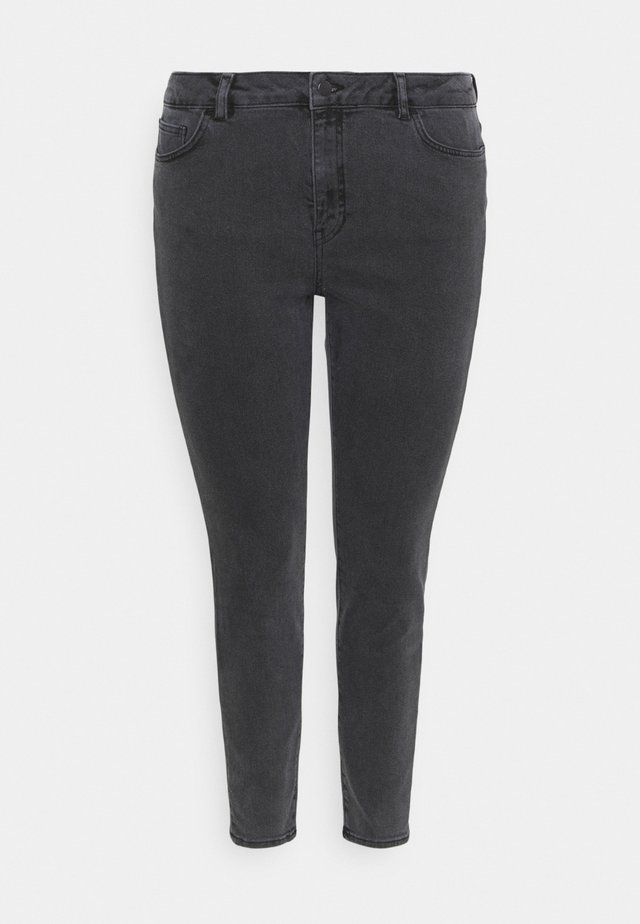 HIGH RISE - Jeans Skinny Fit - black wash