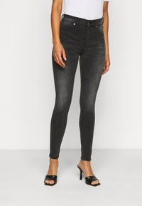 Dr.Denim Petite - PLENTY - Jeans Skinny Fit - iron black - 0