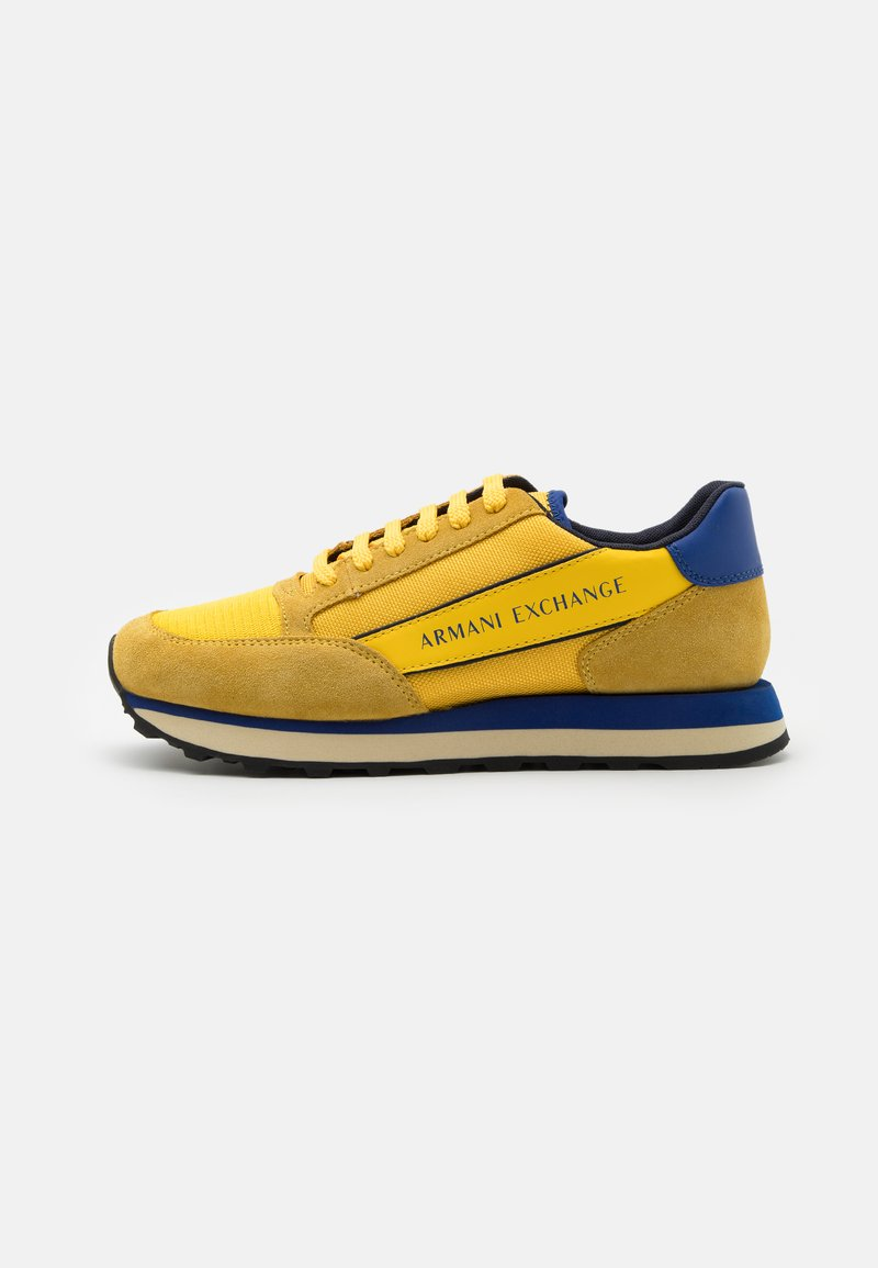 Armani Exchange - Sneakers basse - yellow/bluette/navy