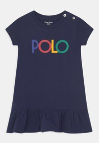 Polo Ralph Lauren - FLOUNCE DAY DRESS SET - Jersey dress - french navy - 0