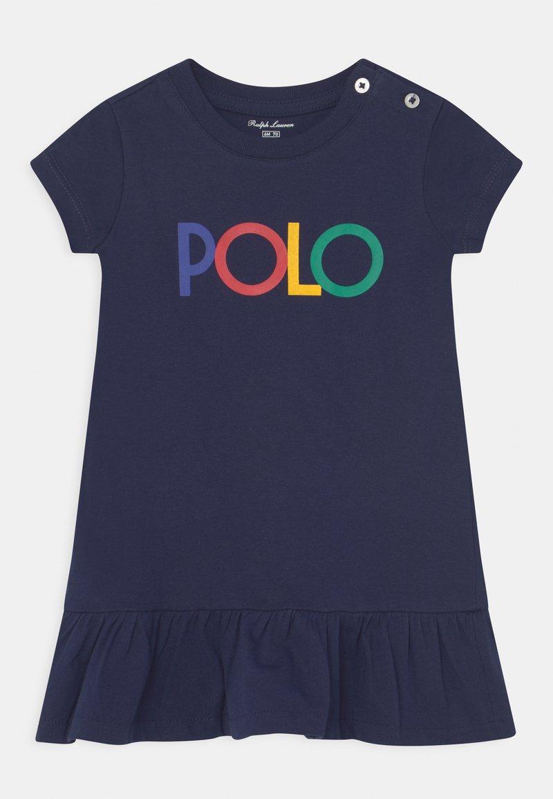 Polo Ralph Lauren - FLOUNCE DAY DRESS SET - Jersey dress - french navy