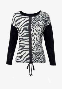 Decay - Long sleeved top - schwarz - 0