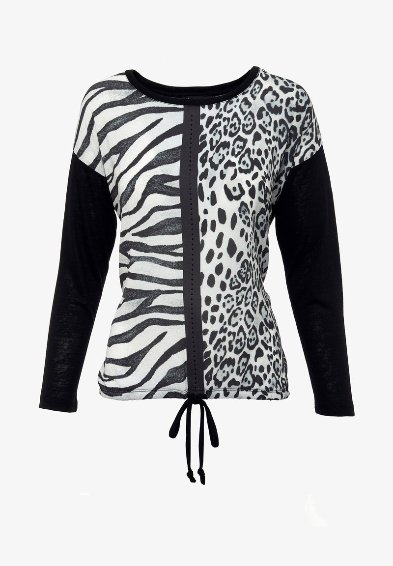 Decay - Long sleeved top - schwarz